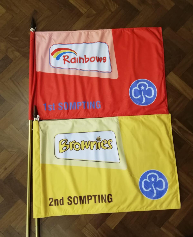 brownie flag