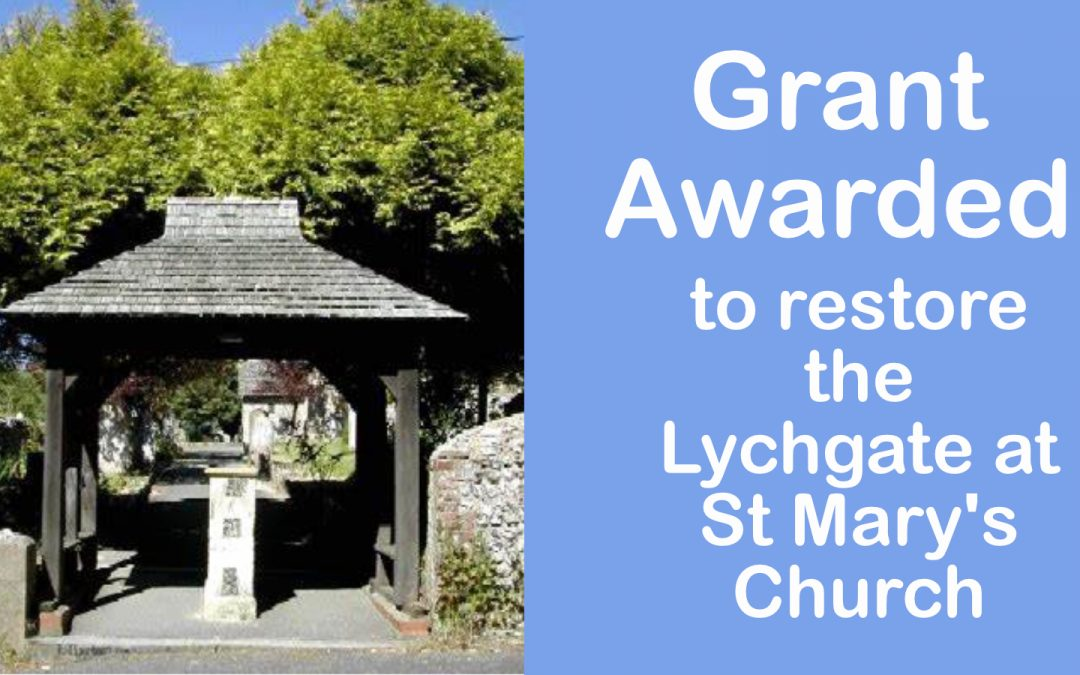 Grant Awarded to restore the lychgate at St Marys Church